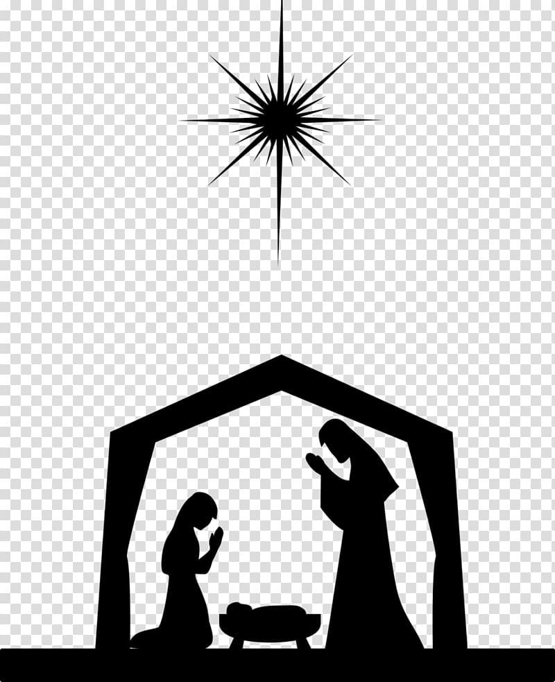 Nativity clipart background. Scene christmas of jesus
