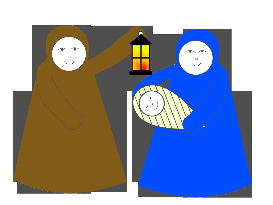 Nativity clipart character. Cone scene magic activities
