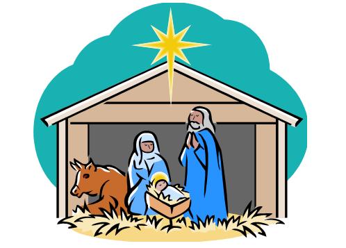 Scene clip art nd. Nativity clipart children's