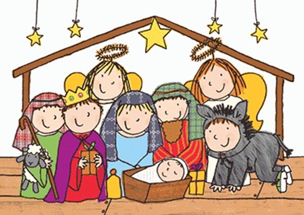 Nativity clipart children's. St nicholas children s