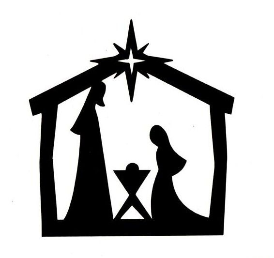 Image result for cricut. Nativity clipart outdoor
