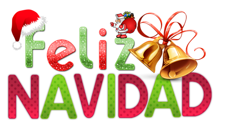 Navidad en espa a. Words clipart tradition