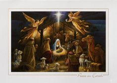 Nativity clipart religious christmas card. Radiant cards