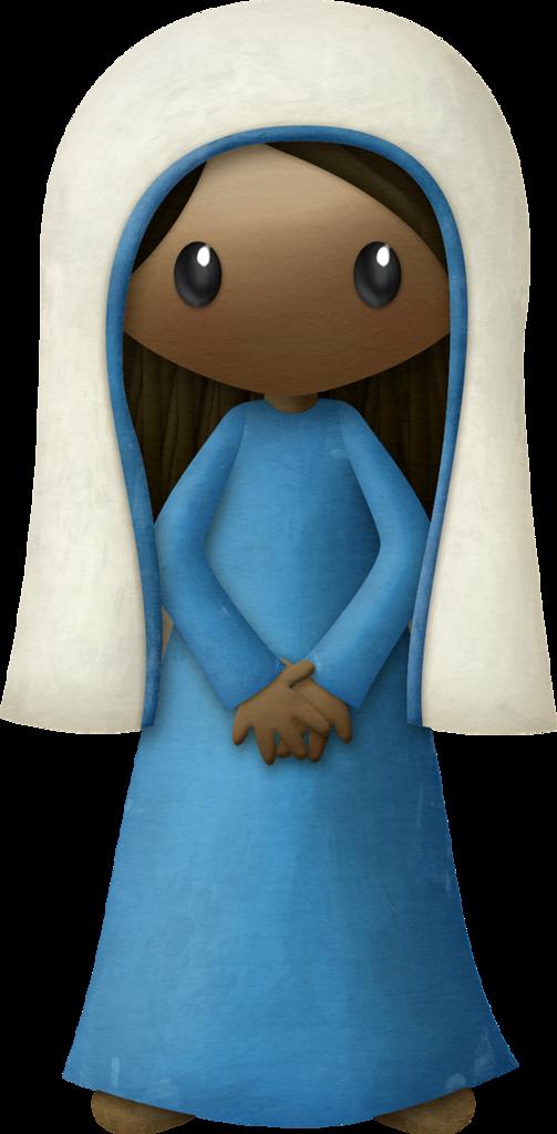 Kaagard silentnight woman png. Nativity clipart silent night