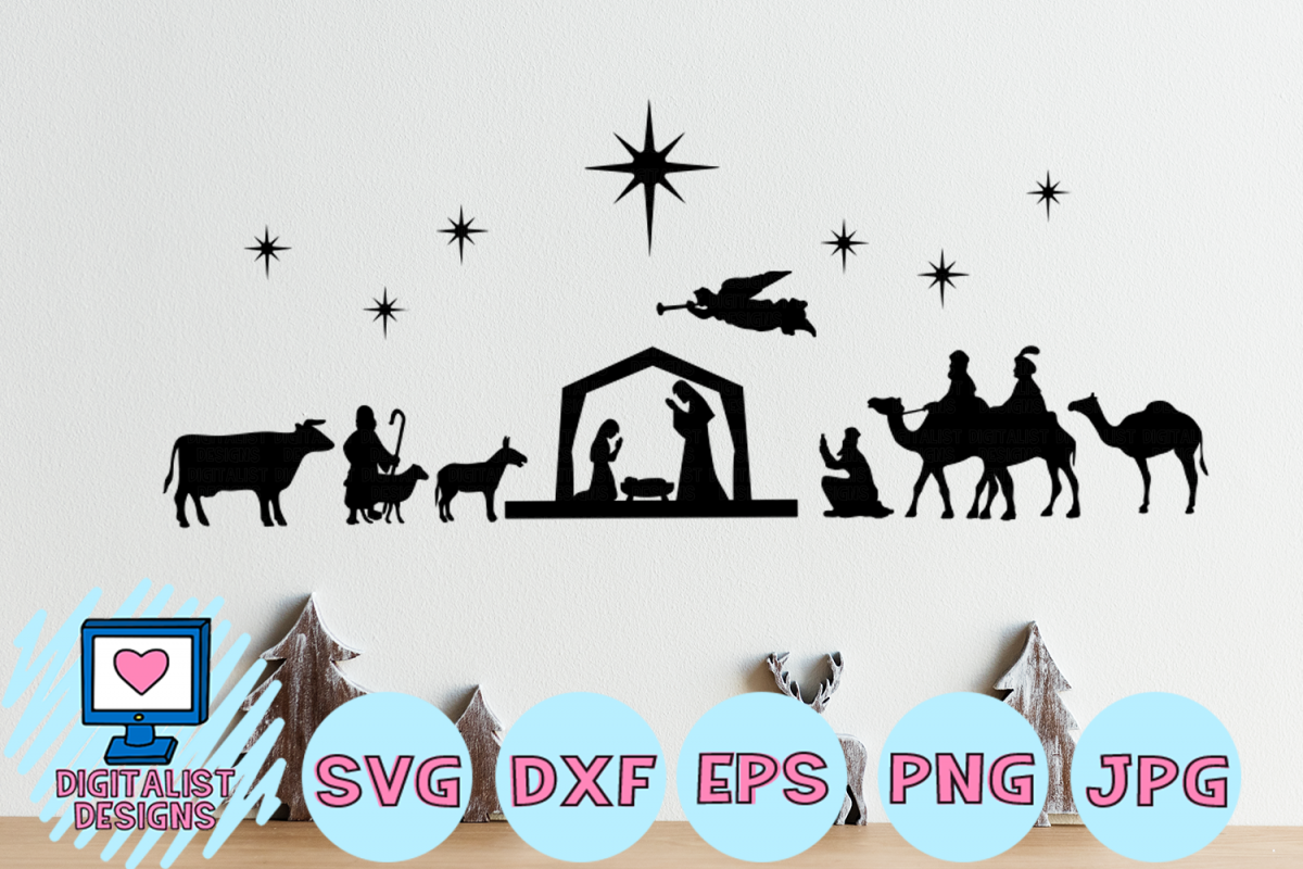 Nativity Clipart Svg Free Nativity Svg Free Transparent Free For Download On Webstockreview 2020