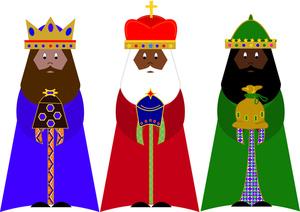 Free wise men cliparts. Nativity clipart wisemen