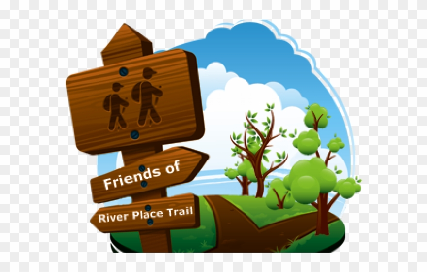 Illustration png download . Pathway clipart nature trail