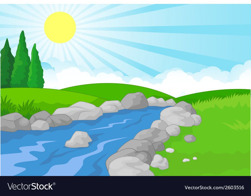 Nature clipart river. Pin by lili on