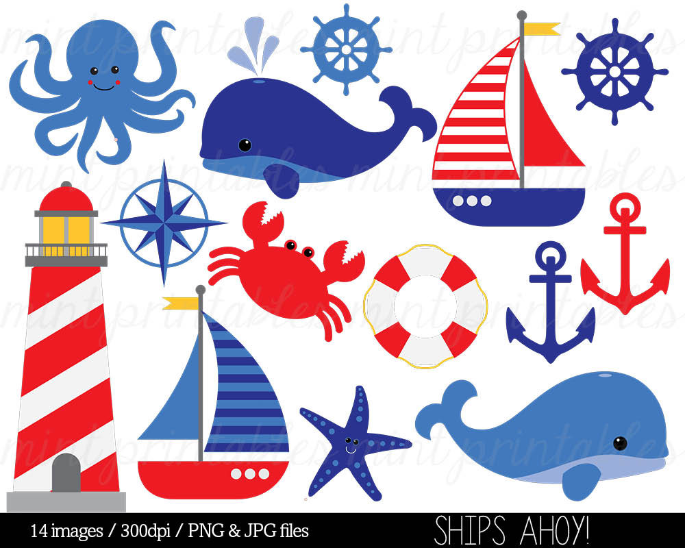 Clip art anchor whale. Nautical clipart