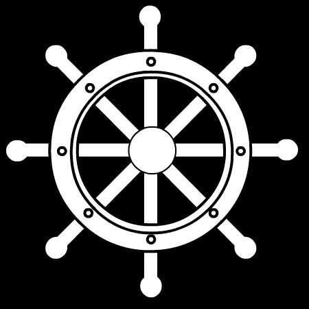 Nautical clipart black and white. Free clip art