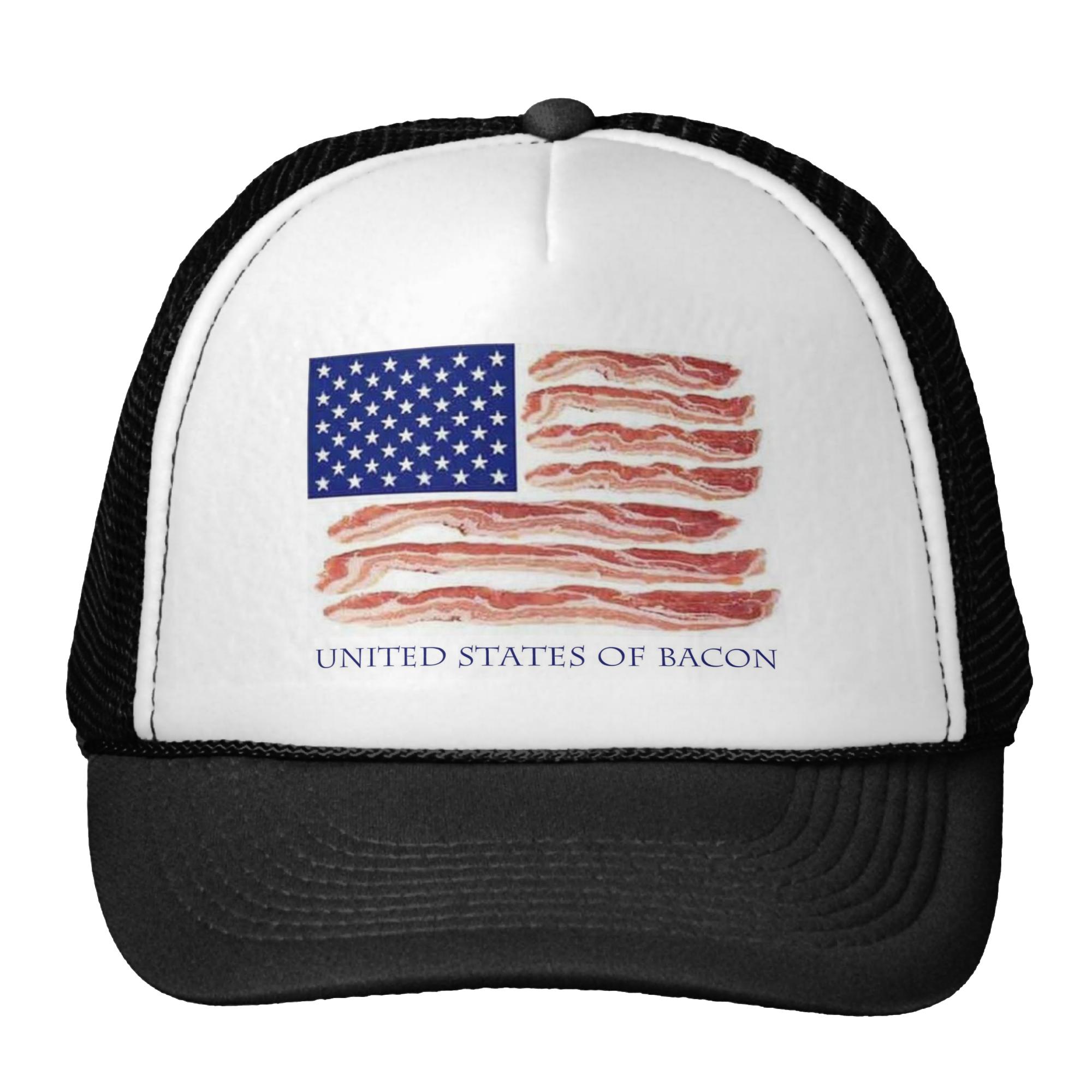 Celebrate international bacon day. Nautical clipart cap