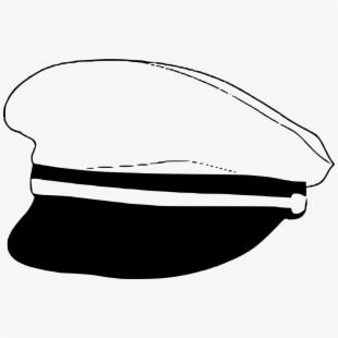 Nautical clipart captain cap. Hat sea tricorne headgear