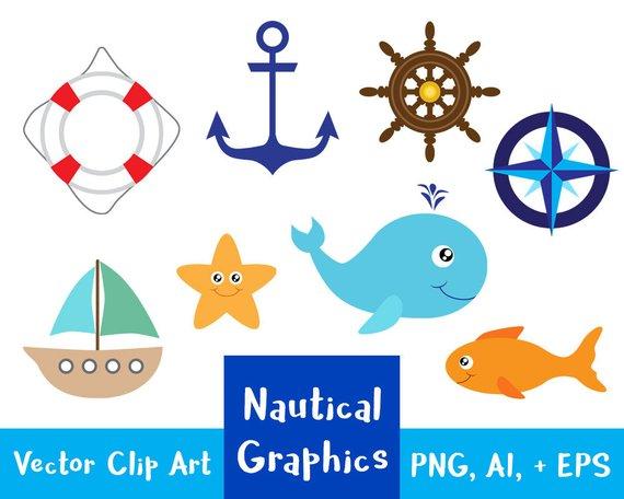 Sea whale clip art. Ocean clipart nautical