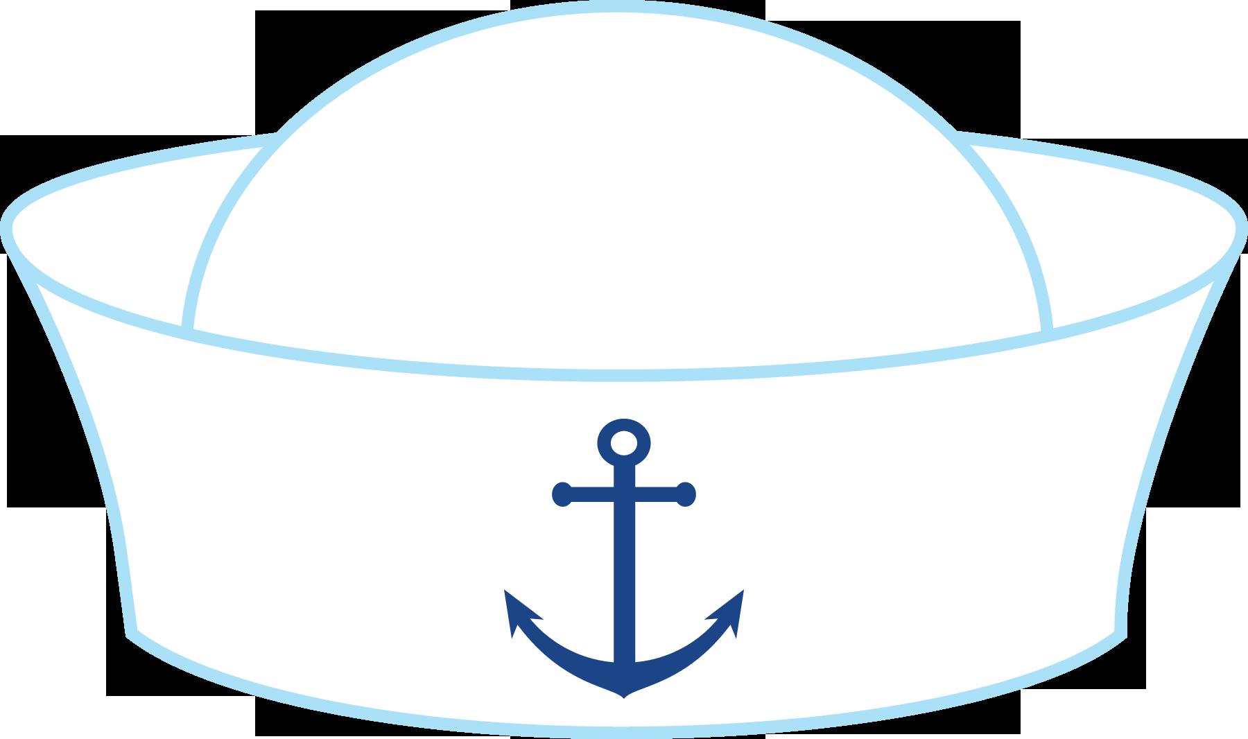 Marinheiros as diy home. Nautical clipart hat