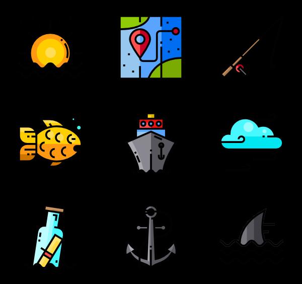 sailor icon packs. Nautical clipart navigation
