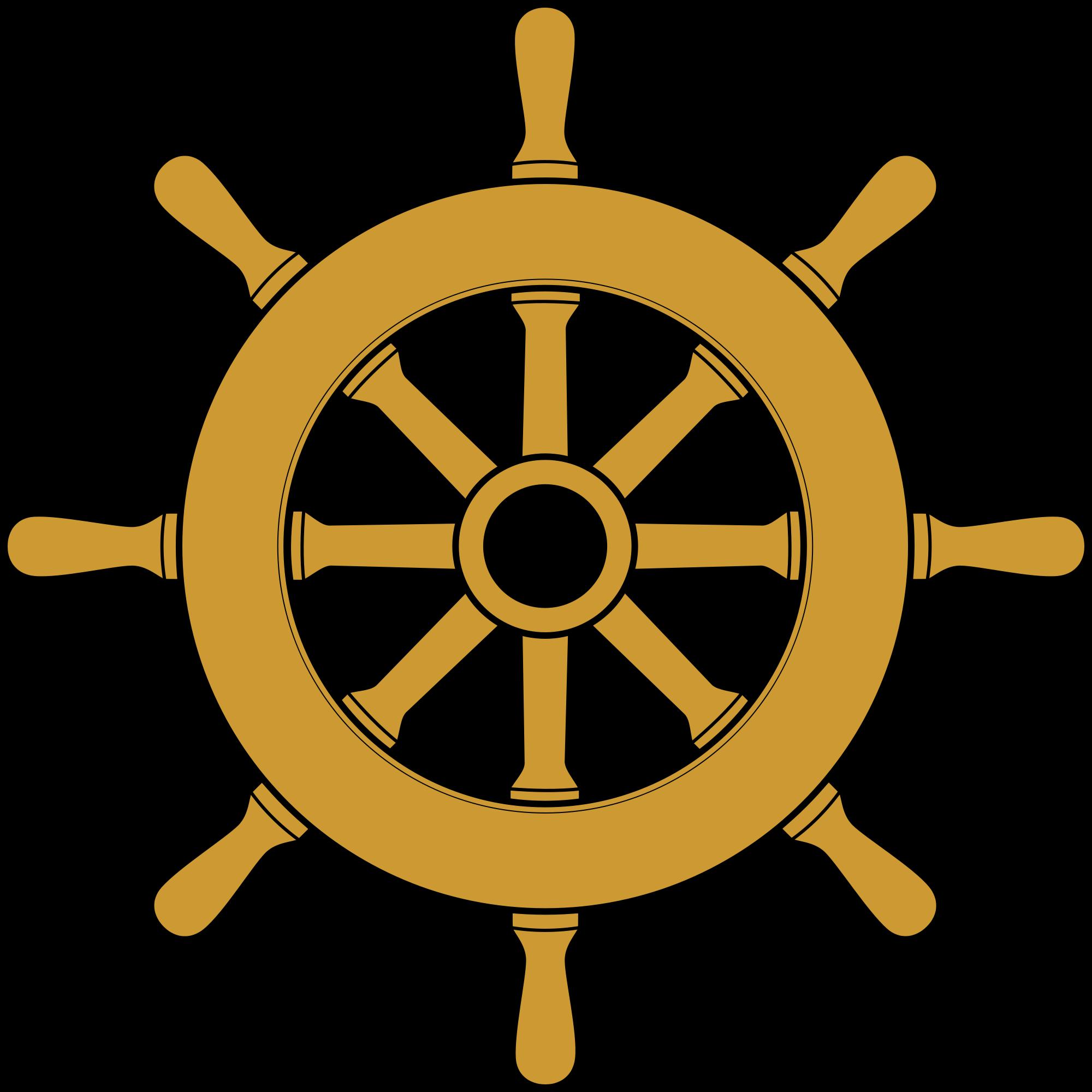 File steering ship svg. Wheel clipart wood wheel