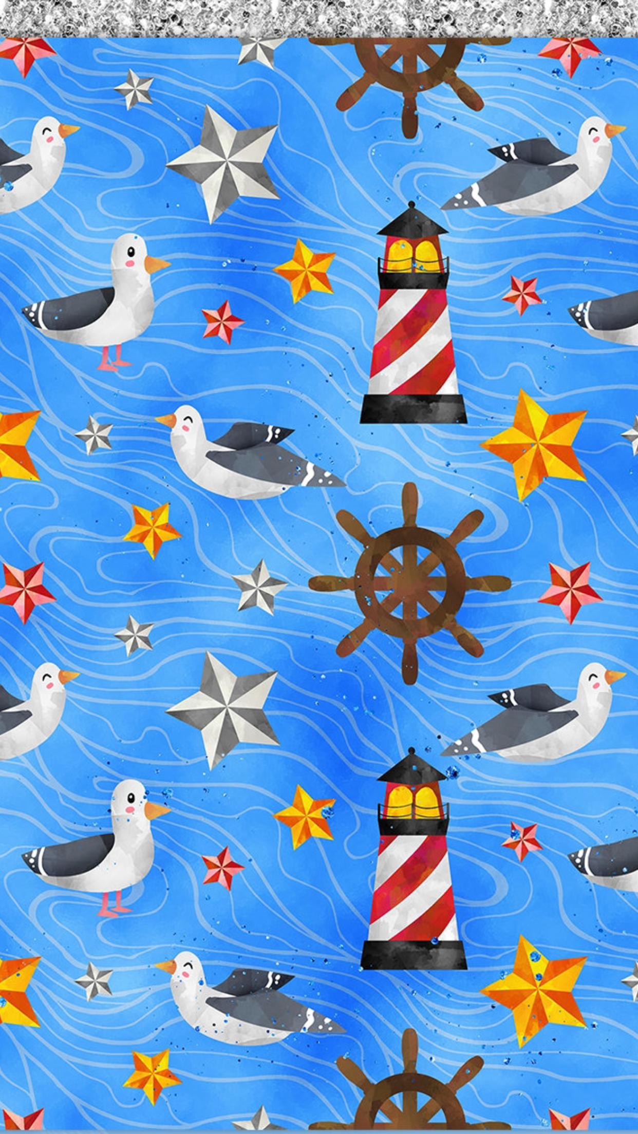 W phone seasons in. Nautical clipart wallpaper