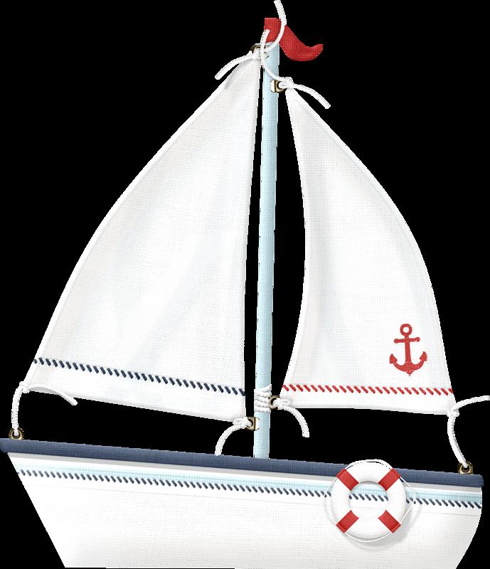 The coastal scrapbook clip. Nautical clipart watercraft