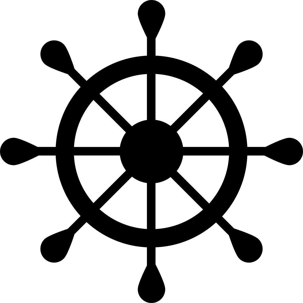Navigation vessel svg png. Wheel clipart nautical
