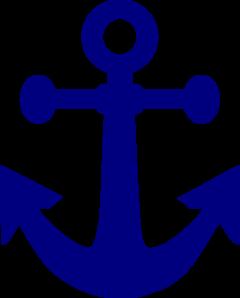 Navy clipart. Dark anchor clip art