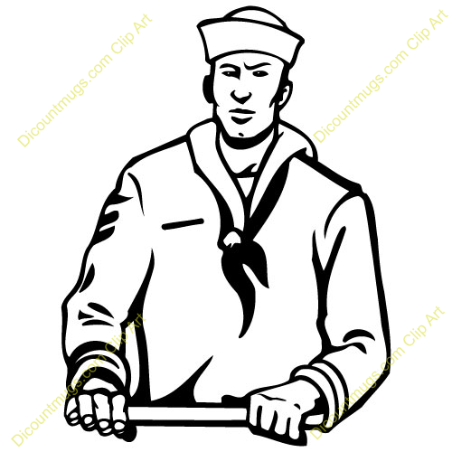 Sailor . Navy clipart