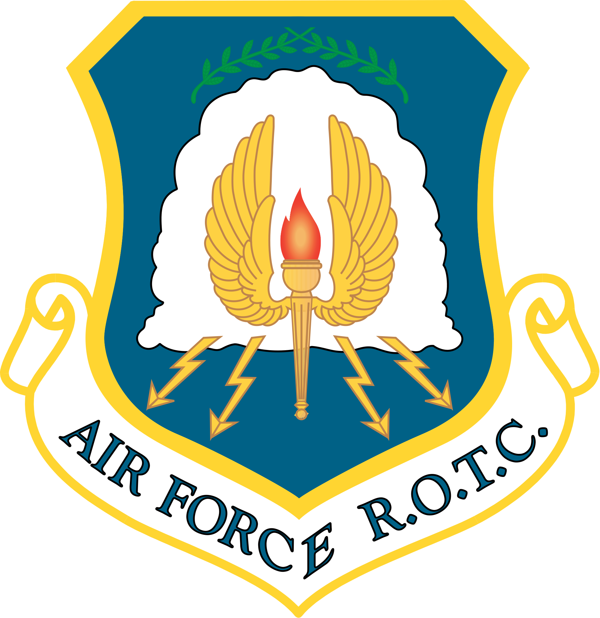 Navy clipart air force officer. Rotc scholarships blythewood jrotc