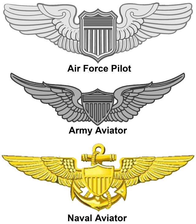 Navy clipart air force officer. United states aviator badge