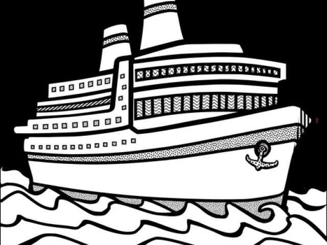 navy clipart big boat