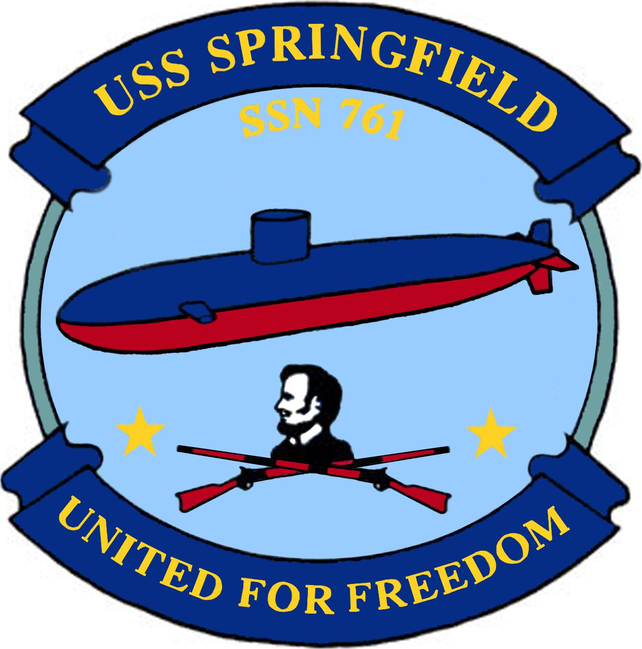 Navy clipart bravo zulu. Uss springfield ssn military