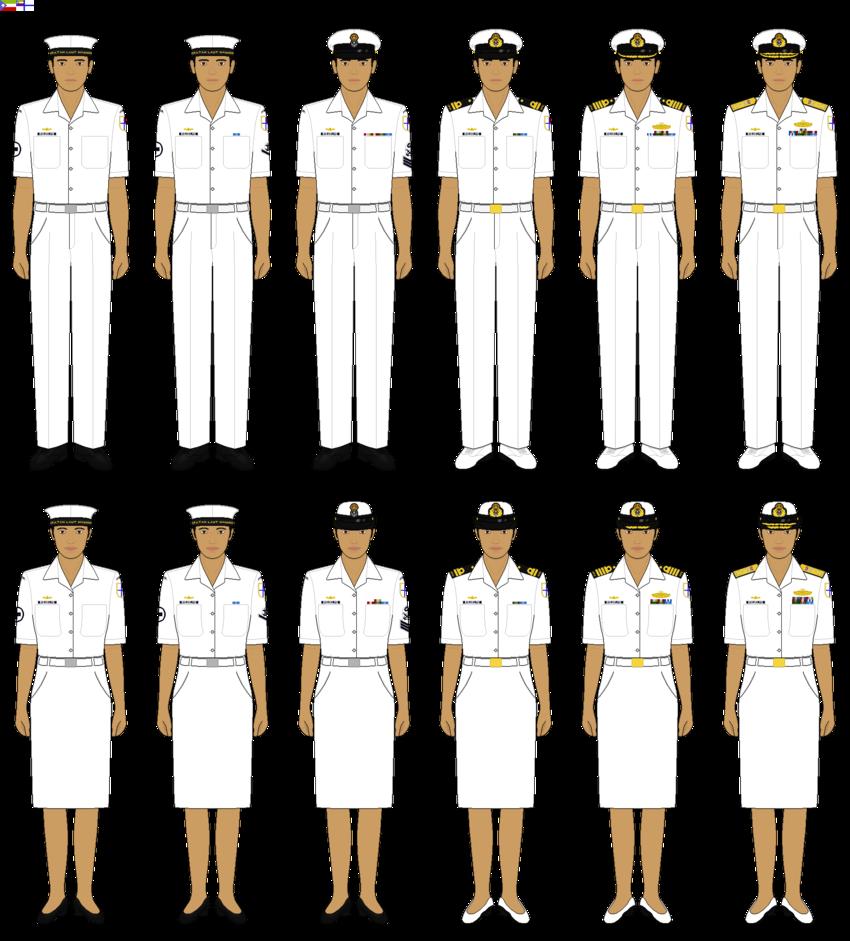 Makmuria no service dress. Navy clipart chief petty officer