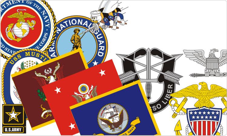 Navy clipart colour. Military color guard clip