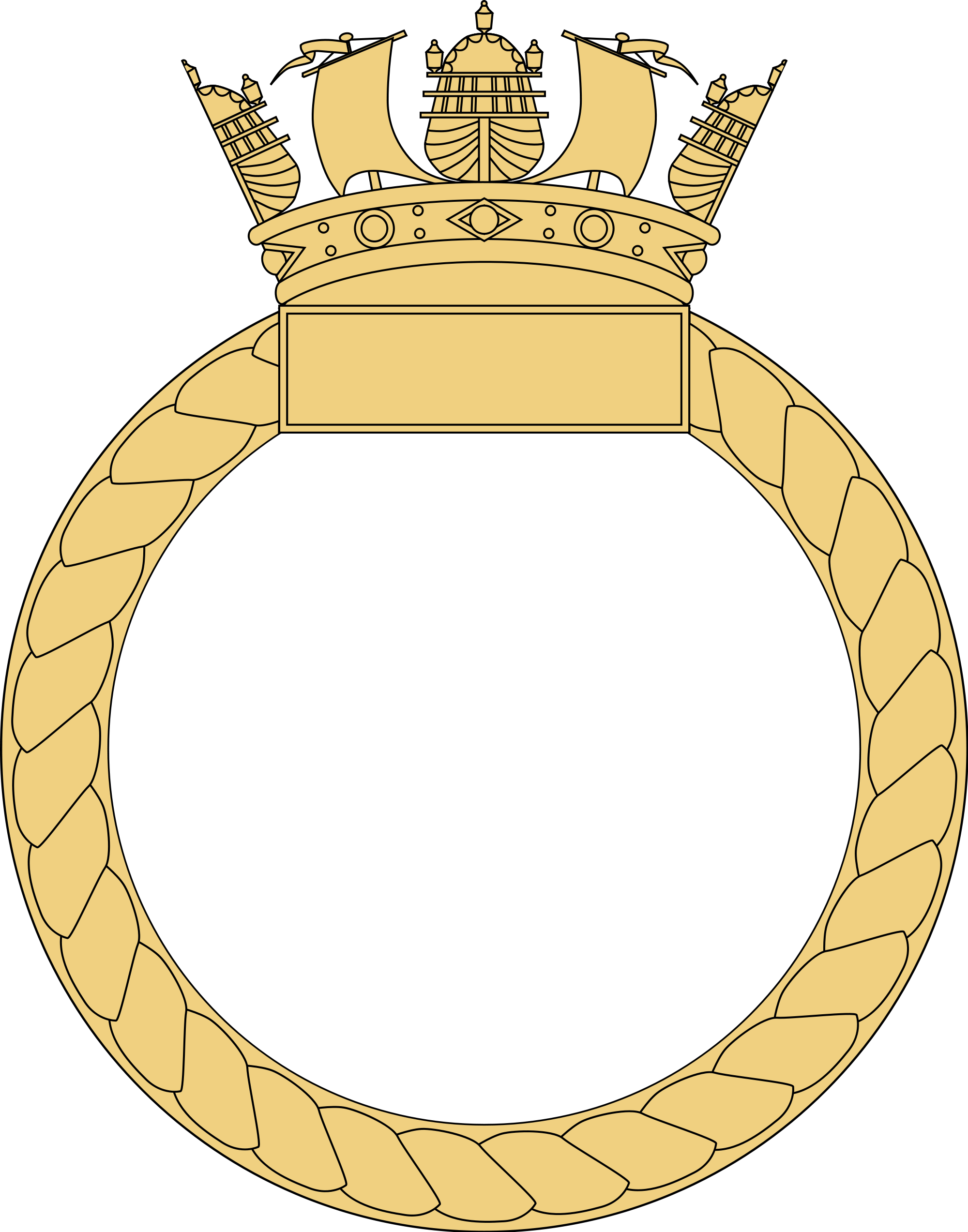 Navy clipart crest. File royal ship s