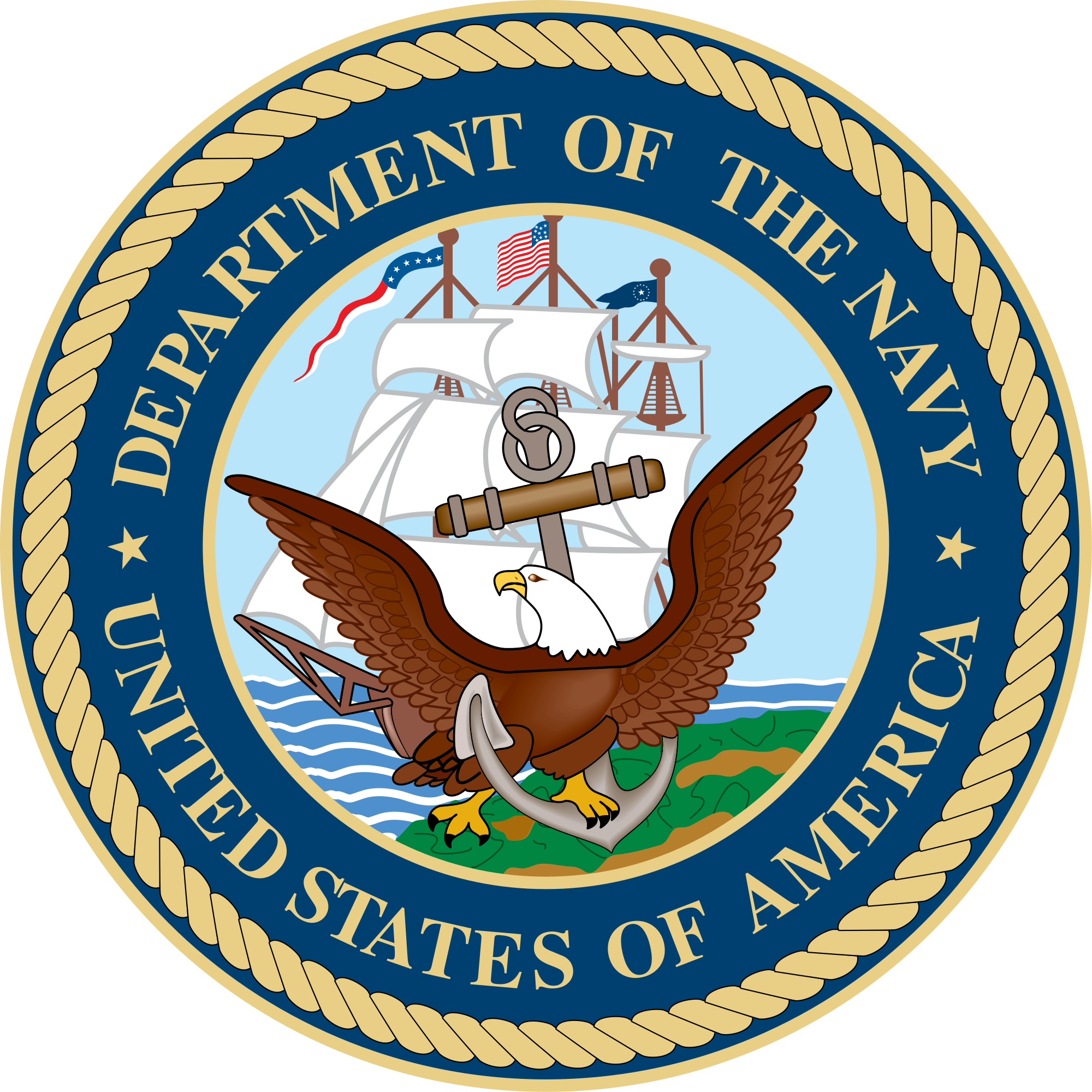 File seal of the. Navy clipart crest