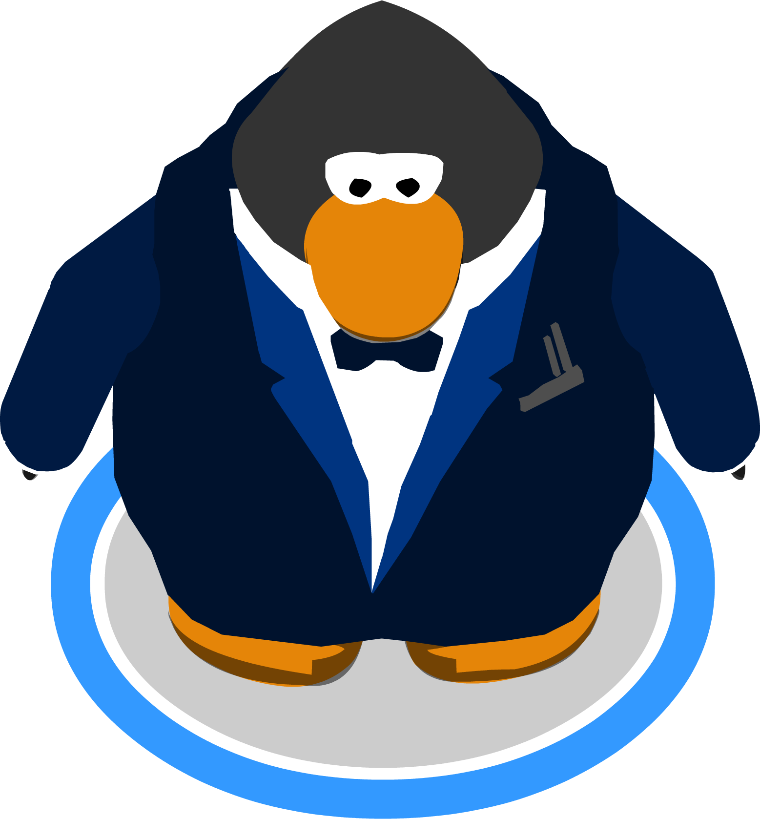 Navy clipart game. Image royale tux in