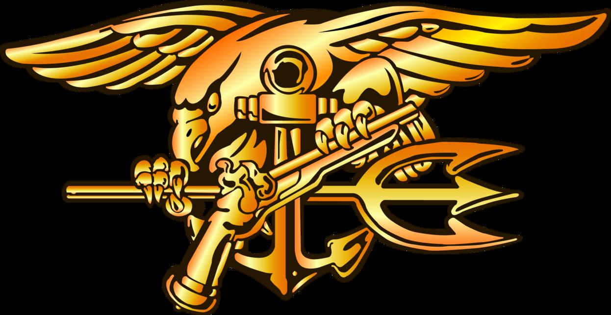 Navy clipart illustration. Seal trident by jbraden