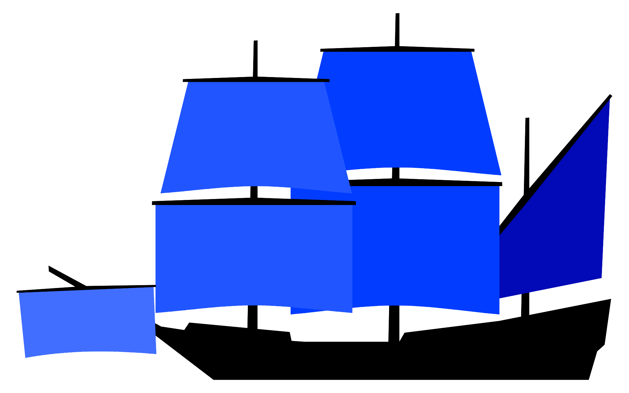 Navy clipart large ship. Carrack wikiwand