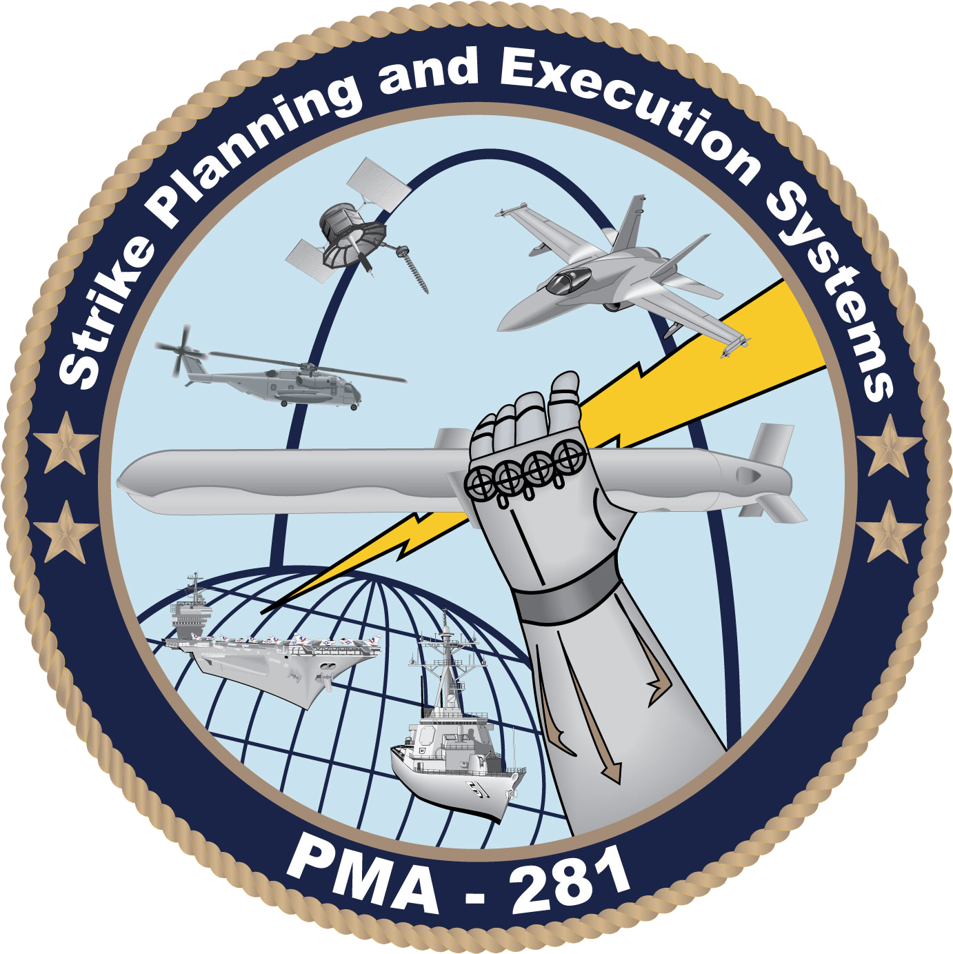 Strike planning and execution. Navy clipart naval