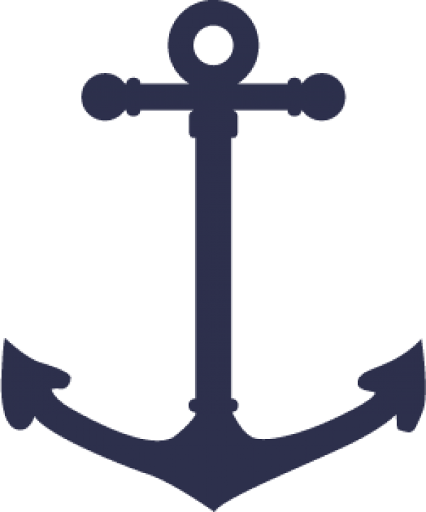 . Navy clipart navy blue anchor