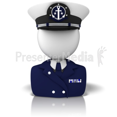 Navy clipart powerpoint. Captain icon presentation great