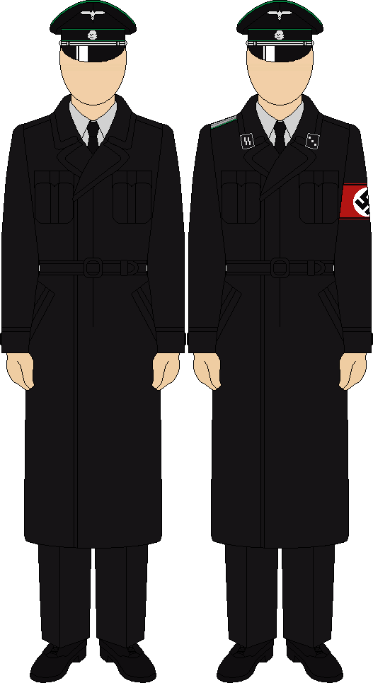 Navy clipart seaman uniform. Gestapo trenchcoat by thefalconette