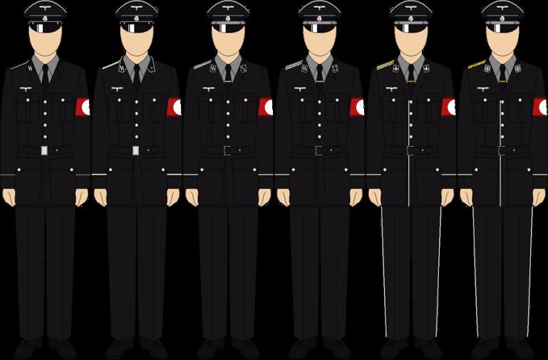 The imperial ss schutzestaffel. Navy clipart uniform navy