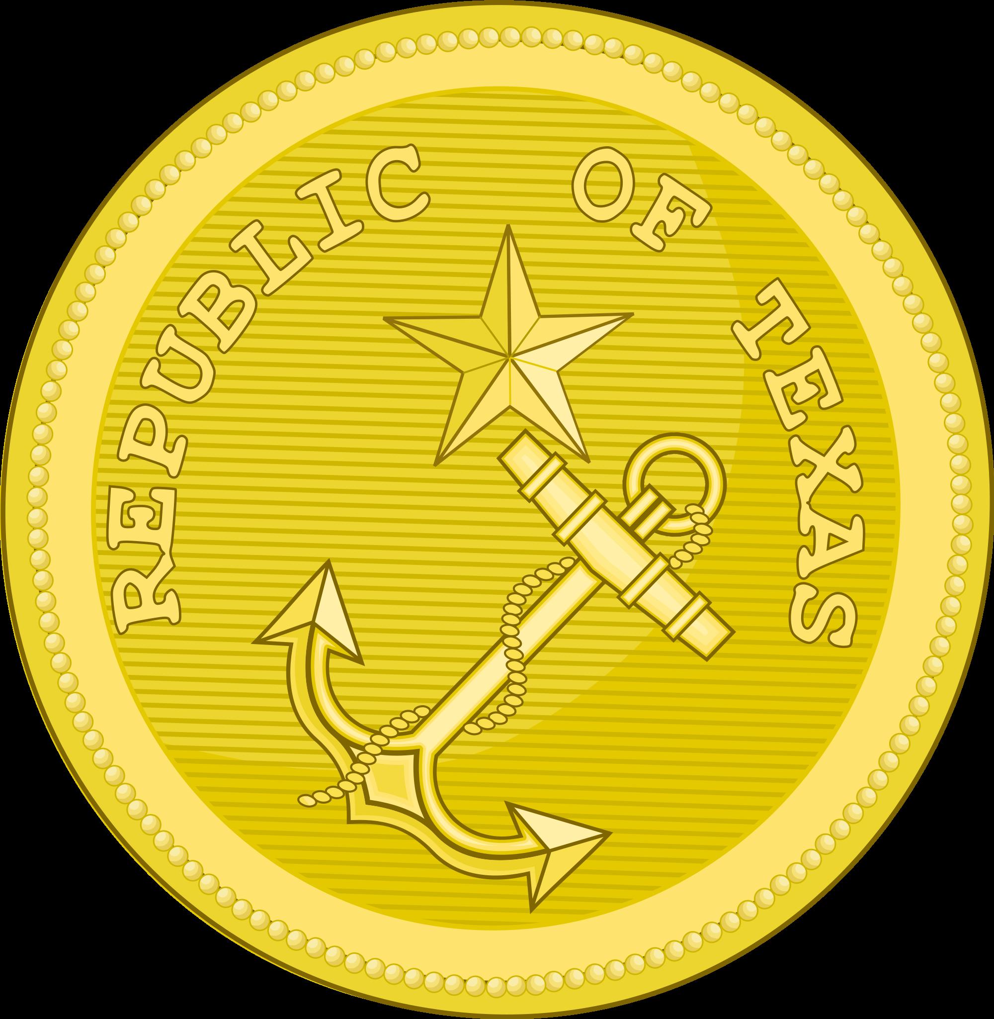 Navy clipart uniform navy. File texas button svg