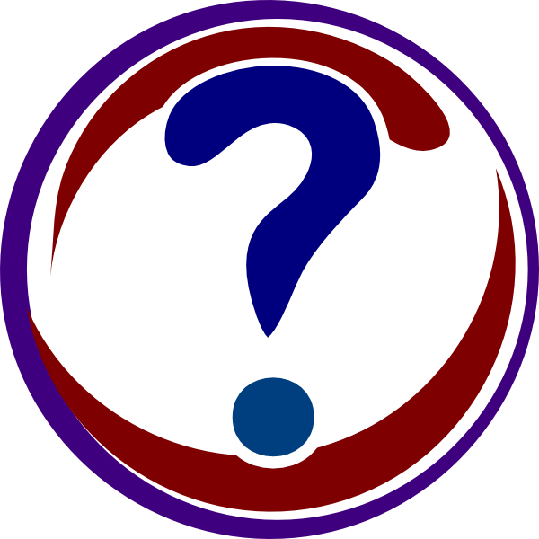 Red question mark clip. Navy clipart vector