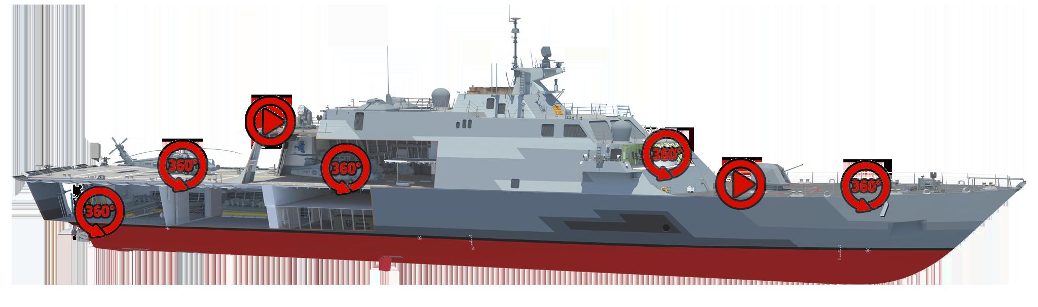 navy clipart warship