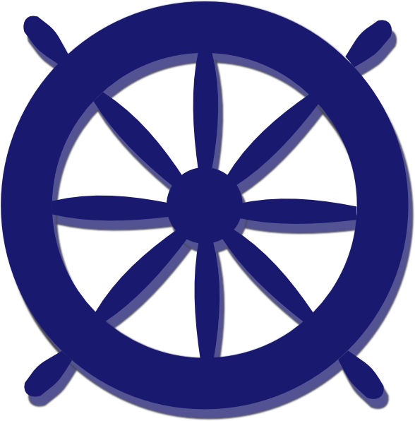 Ship clip art at. Navy clipart wheel