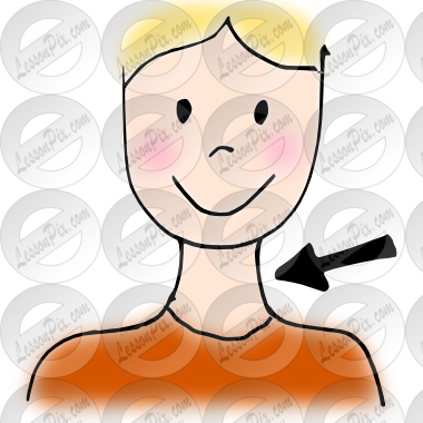 Picture for classroom therapy. Neck clipart