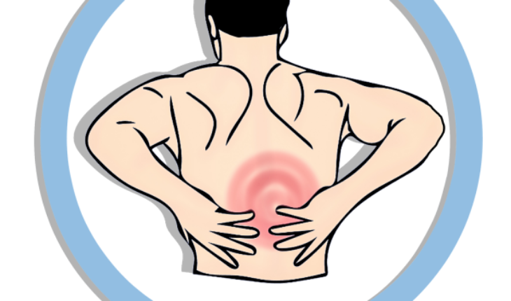 Lower pain natural remedies. Neck clipart body back