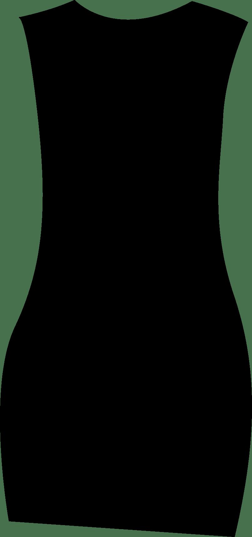 Cd cutton garments. Neck clipart body back