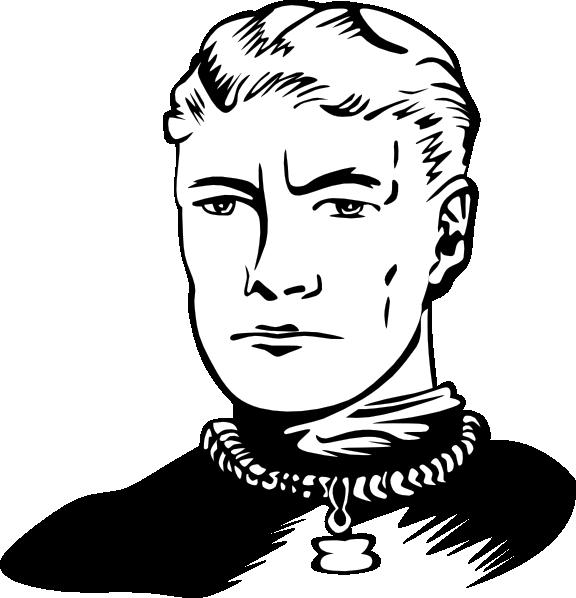 Science fiction illustration clip. Neck clipart chin
