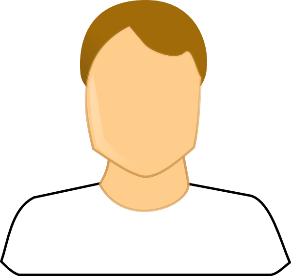 Male icons clip art. Neck clipart chin